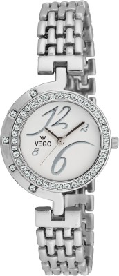Vego AGF023 Vego Silver Color Analog Watch For Women,s(AGF023) Analog Watch  - For Women