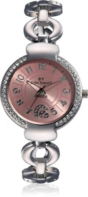 BY Bribe Yourself G103(pnk) Grandeur Analog Watch  - For Women