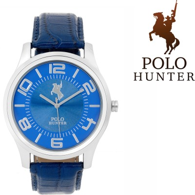 Polo Hunter Bold Blue Octane Modest Wakefield Analog Watch  - For Men, Boys