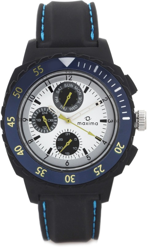 Maxima 30767PPGN Hybrid Analog Watch For Men