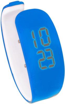 Hari Krishna Enterprise Ring Led Blue Digital Watch  - For Boys, Men