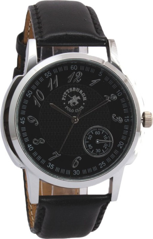 Pittsburgh Polo Club PBPC 446 BLK334 Analog Watch For Men