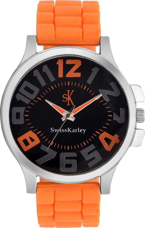 Swiss Karley SK10001 OrangeO Analog Watch For Men