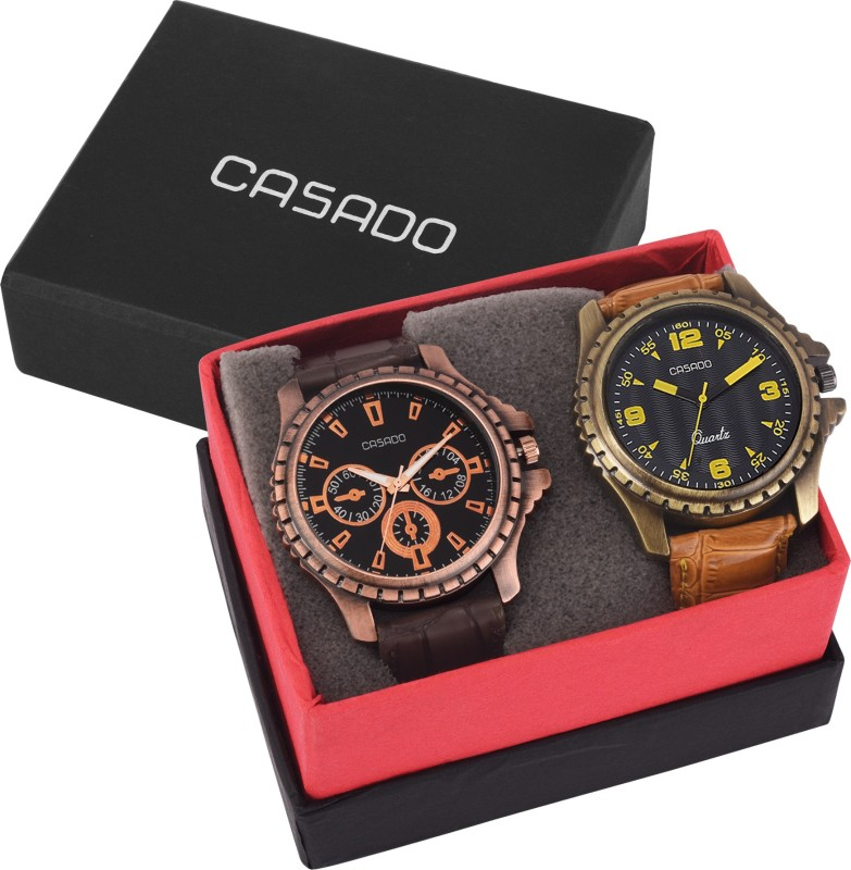 Casado 720and135 Combo of 2 Latest Edition Series Analog Watch