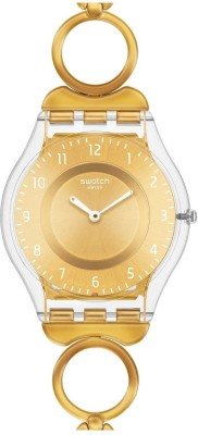 Swatch SFK369G Skin Collection 2012 XMas Collection Analog Watch  - For Women