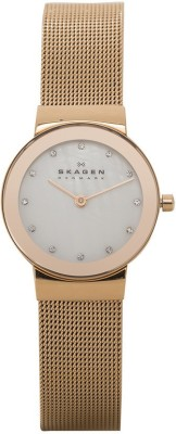 Skagen 358SRRD Analog Watch - For Women