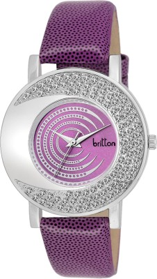 BRITTON BR-LR002-PRP-PRP Analog Watch  - For Girls