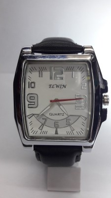 Elwin square el-av324w eleganza Analog Watch  - For Men, Boys