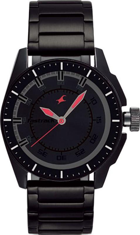 Fastrack NG3089NM01C Black Magic Analog Watch For Men