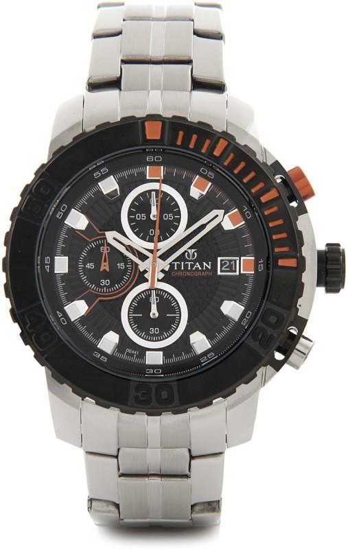 Titan 90029KM01 Analog Watch For Men