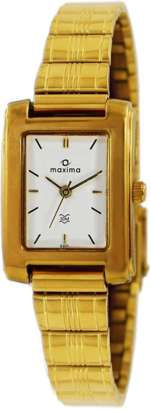 Maxima 02401CPLY Analog Watch For Women