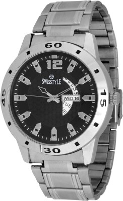 Swisstyle SS-GR1181 Suave Analog Watch  - For Men