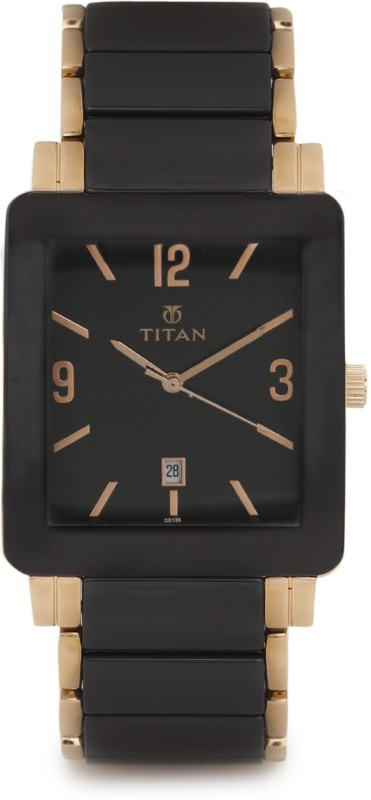 Titan NH90013WD01J Analog Watch For Men
