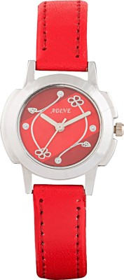 Adine AD-1236 RED-RED Fasionable Analog Watch  - For Women