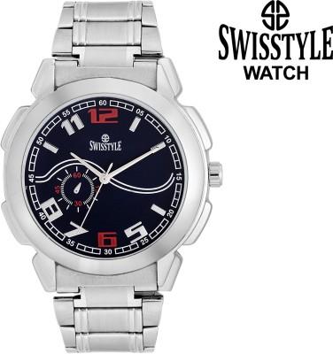 Swisstyle Unique design-GR610BLACK Analog Watch  - For Men