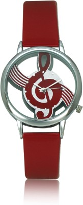 Itz Imported Music Symbol Hollow Dial Analog Watch  - For Women, Men