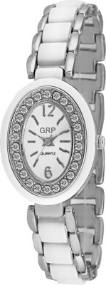 GRP LR108-WHT-CH Analog Watch  - For Women