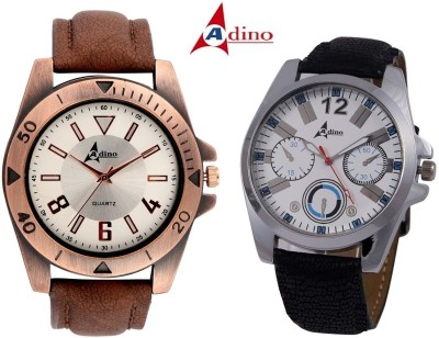 Adino Royal Ultimate ChronoGraph Pattern Analog Watch  - For Men, Couple