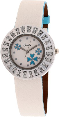 Gesture DMD-SB-R Diamond Studded Analog Watch  - For Women