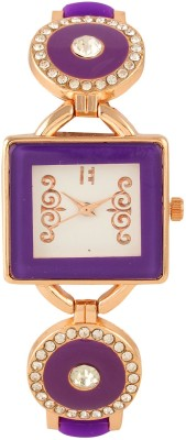 Excelencia CW-05-Purple Contemporary Analog Watch  - For Women