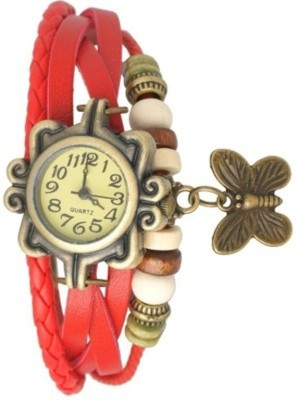 MKS Vin Style Butterfly Analog Watch  - For Girls, Women