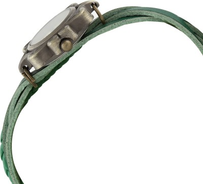 D&S Collection VISER GREEN Analog Watch  - For Girls