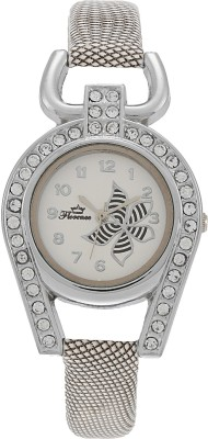 Florence FL-WHT-F-055 Analog Watch  - For Women