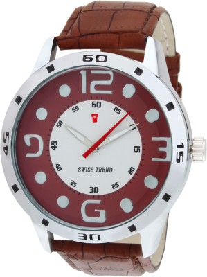 Swiss Trend ST2011 Latest Trend Analog Watch  - For Boys, Men