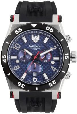 Swiss Eagle SE-9076-03 Analog Watch  - For Men
