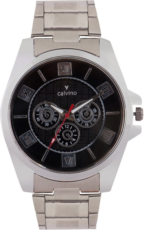 Calvino CGAC 142011 MRMBlack Analog Watch For Men