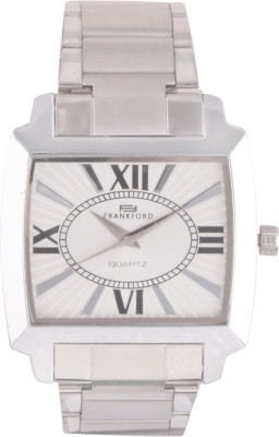 Frankford Ffgc-10 Ip Sq Fashion Analog Watch  - For Couple