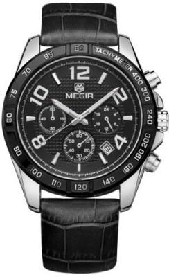 Megir 2014 Analog Watch  - For Men