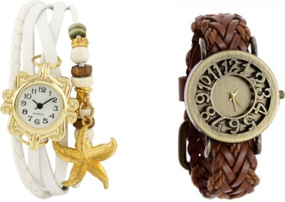 COSMIC NN3437 PACK OF 2 WOMEN BRACELET WATCHES Analog Watch  - For Women