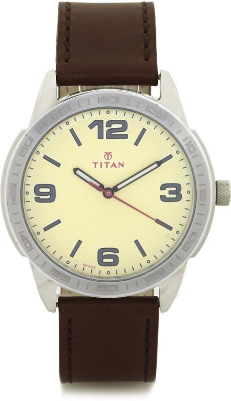Titan 1585SL06 Purple Analog Watch For Men