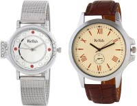 Relish R-880C Analog Watch  - For Couple