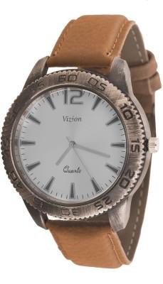 Vizion VSC-03STONE Stone Design Analog Watch  - For Men, Boys