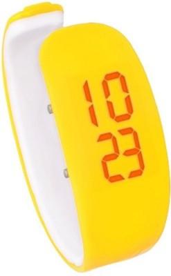 Fleetwood Wristlet Super Unique Yellow Digital Watch - For Girls, Women