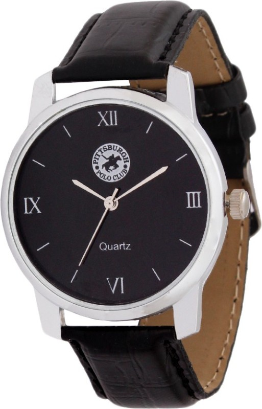 Pittsburgh Polo Club PBPC 450 BLK338 Analog Watch For Men