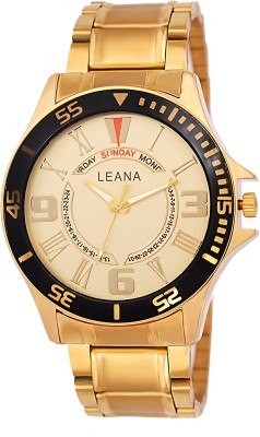 Leana LW516 Round Dial Analog Watch  - For Men