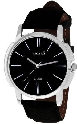 Asgard SIMPLEBLACK Analog Watch  - For Men