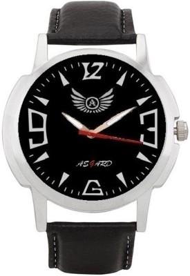 Asgard Black-002 Silver-01 Analog Watch  - For Men