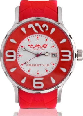 Wave London Wave London Freestyle Red Watch (Wl-Fs-R) Freestyle Analog Watch  - For Women