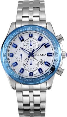 Longbo LGSLR 04147 Saffron Analog Watch  - For Men