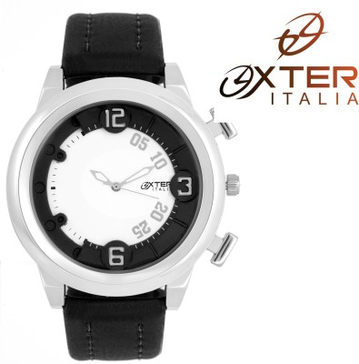 Oxter White Essential Addictive Collection Analog Watch  - For Men, Boys