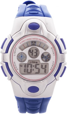 Telesonic SWR-306(Blue) Vizion Series Digital Watch  - For Boys, Girls