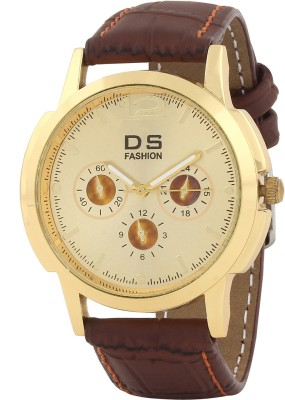 DS FASHION DSF0003GDMW Modest Analog Watch  - For Men