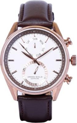 Aries Gold G100 RG-WRG Analog Watch  - For Men