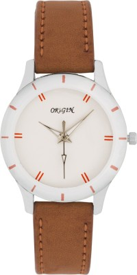 Origin whiteostrap Analog Watch  - For Women, Men