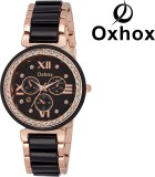 Oxhox OXL 484 BLACK CHRONOGRAPH PATTERN ...
