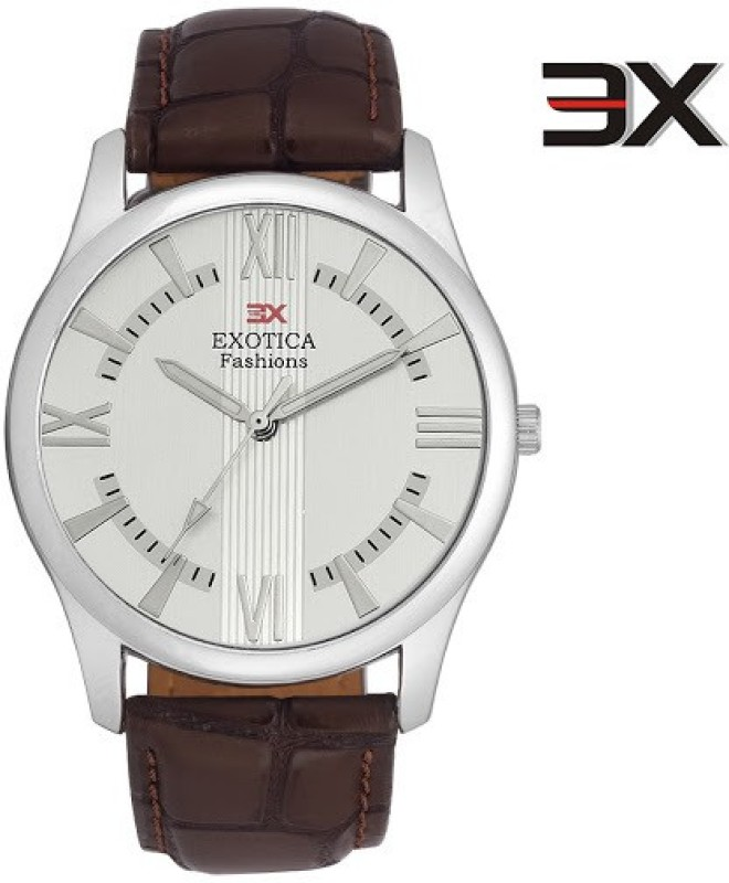Exotica Fashions EFGM 22 Dark Brown NS New Series Analog Watch